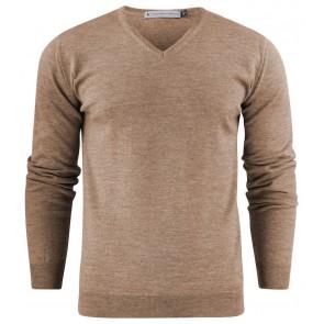 Harvest Westmore Merino Pullover Sweater Heren Grijs
