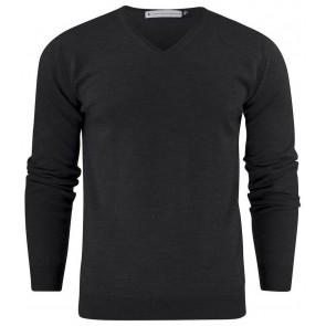 Harvest Westmore Merino Pullover Sweater Heren Zwart