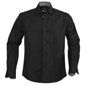 Harvest Baltimore Overhemd Heren Zwart