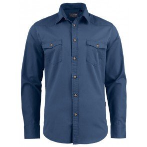 Harvest Treemore Overhemd Heren Vintage Blauw