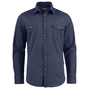 Harvest Treemore Overhemd Heren Marineblauw