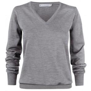 Harvest Westmore Merindo Pullover Sweater Dames Grijs Melange