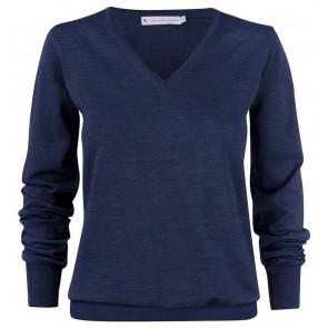 Harvest Westmore Merindo Pullover Sweater Dames Marineblauw