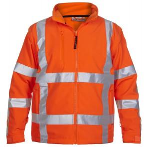 Hydrowear Toulon Softshell jack Fluor Oranje