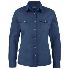 Harvest Treemore Overhemd Dames Vintage Blauw