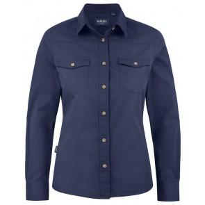 Harvest Treemore Overhemd Dames Marineblauw