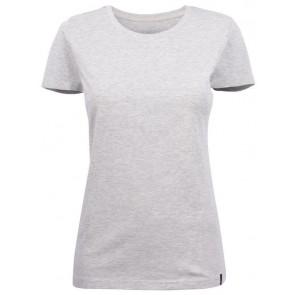 Harvest American U T-Shirt Dames Lichtgrijs