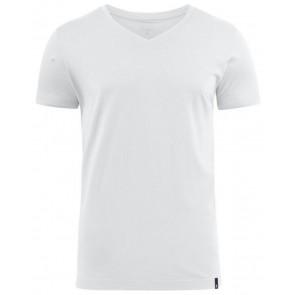 Harvest American V-Hals T-Shirt Heren Wit