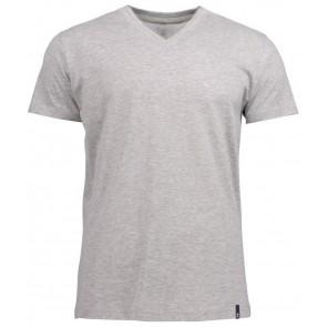 Harvest American V-Hals T-Shirt Heren Lichtgrijs