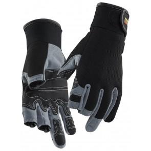 Blåkläder 2233 Handschoen Mekaniekers Zwart/Grijs