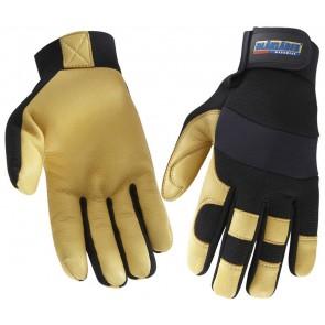 Blåkläder 2239 Gevoerde Handschoen Ambacht Zwart/Geel