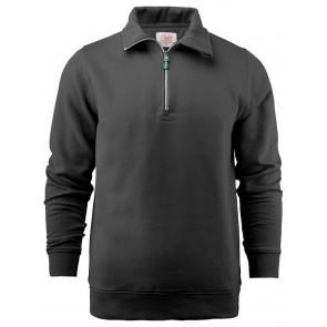 Printer Rounders Rsx Halfzip Sweatshirt Unisex Zwart