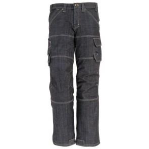 FHB Wilhelm Stretch-Jeans-Werkbroek Blauw