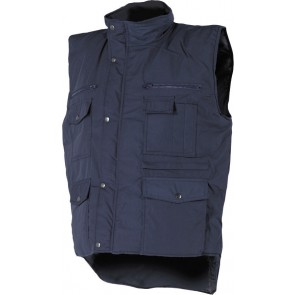 M-Wear bodywarmer Worker 0370 marineblauw