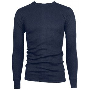 Viloft Thermal T-shirt lange mouw marineblauw