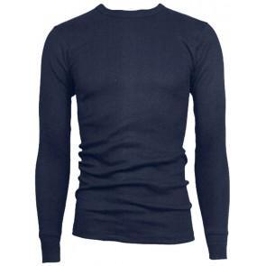 Viloft Thermal T-shirt lange mouw marineblauw