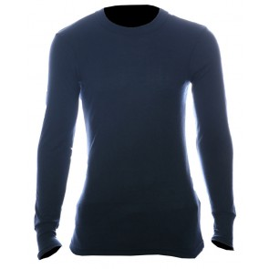 Thermal T-shirt lange mouw grijs