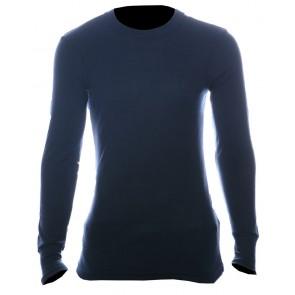 Thermal T-shirt lange mouw grijs