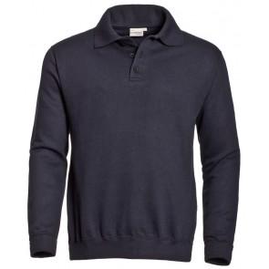 Santino polosweater Robin marineblauw