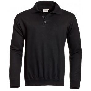 Santino polosweater Robin zwart
