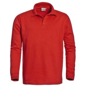 Santino Rick polosweater rood