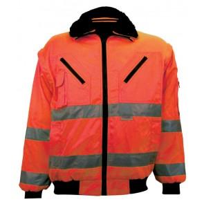 M-Wear pilotjack EN 471 0976 fluo oranje