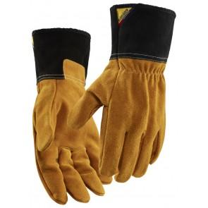 Blåkläder 2840-1461 Hittebestendige handschoen Brown/Dark grey