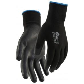 Blåkläder 2900-1453 PU-gedipte handschoen Zwart