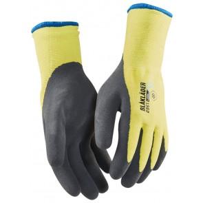 Blåkläder 2961-1451 Handschoen Gevoerd Ambacht - latex High Vis Geel