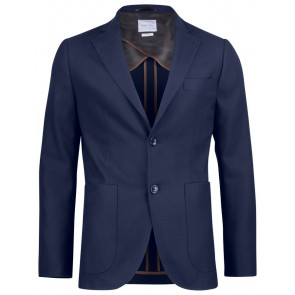 J.Harvest & Frost Club Blazer 30 Man Marineblauw