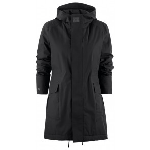 J.Harvest & Frost Technical Parka With Hood Woman Zwart