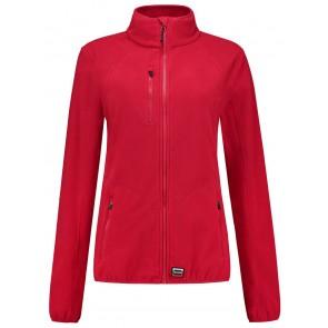 Tricorp 301011 Sweatvest Fleece Luxe Dames Rood