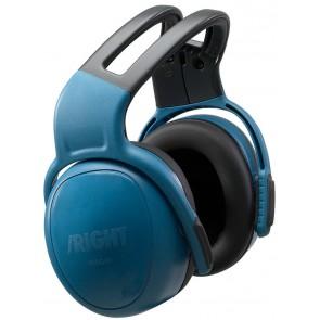 MSA gehoorkap left/RIGHT HIGH met hoofdbeugel blauw SNR 33 dB(A) (10087400)