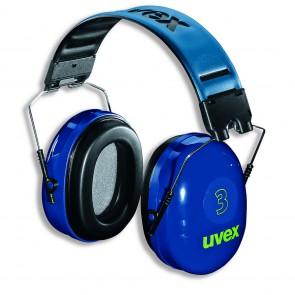 Uvex gehoorkap 3 met hoofdbeugel 239 gram (2500-002)