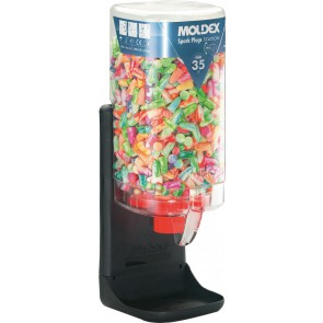 Moldex station met 500 paar Spark Plugs oordoppen (7850)
