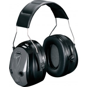3M Peltor Optime Push To Listen gehoorkap met hoofdband SNR 31 dB(A) (MT155H530A 380)