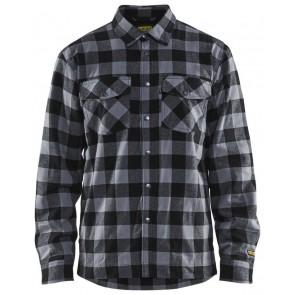 Blåkläder 3225-1131 Overhemd Flanel Gevoerd Donkergrijs/Zwart