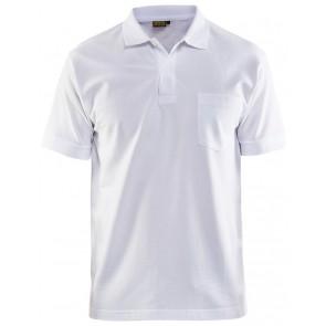Blåkläder 3305-1035 Piqué Polo Wit