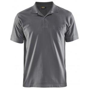 Blåkläder 3305-1035 Piqué Polo Grijs