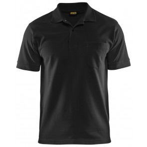 Blåkläder 3305-1035 Piqué Polo Zwart