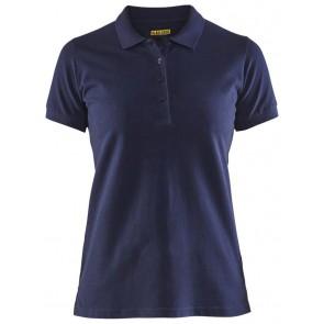 Blåkläder 3307-1035 Dames poloshirt piqué Marineblauw