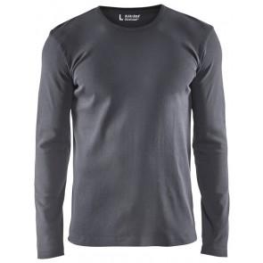 Blåkläder 3314-1032 T-shirt lange mouwen Grijs