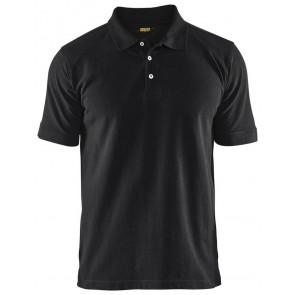 Blåkläder 3324-1050 Piqué Polo Zwart
