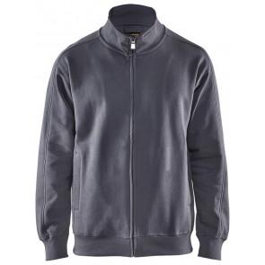 Blåkläder 3349-1048 Sweatshirt lange rits Grijs