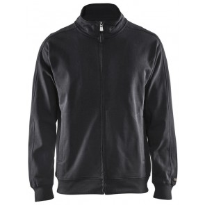 Blåkläder 3349-1048 Sweatshirt lange rits Zwart