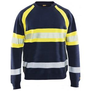 Blåkläder 3359 Marineblauw/Geel