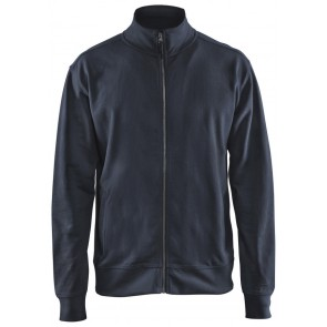 Blåkläder 3371-1158 Sweatshirt met rits Marineblauw