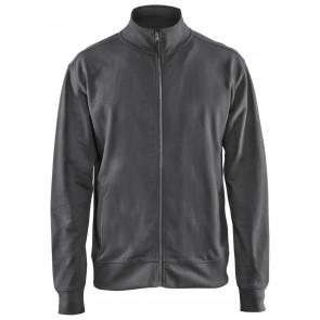 Blåkläder 3371-1158 Sweatshirt met rits Donkergrijs