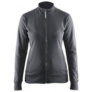 Blåkläder 3372-1158 Dames Sweatshirt Donkergrijs