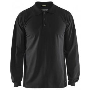 Blåkläder 3374-1726 Vlamvertragende Piqué Polo Zwart